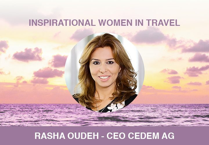 Inspirational Women – Rasha Oudeh – April 2019