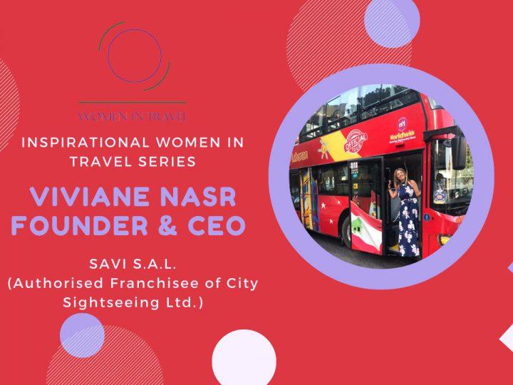 Inspirational Women in Travel Series: Viviane Nasr